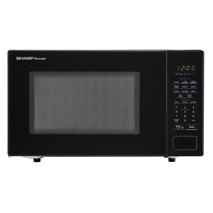 Sharp Appliances1.1 cu. ft. 1000W Sharp Countertop Black Microwave