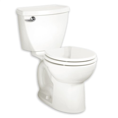 Cadet 3 Right Height Round Front Toilet - 1.6 gpf - White