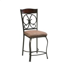 Glambrey - Brown Set Of 4 Dining Room Barstools