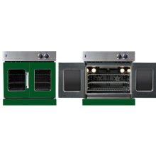 Residential Wall Oven, French Door Wall Oven , Green Color