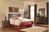 Allymore - Brown 5 Piece Bedroom Set