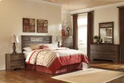 Allymore - Brown 5 Piece Bedroom Set Product Image