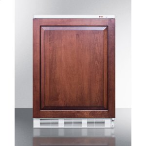 SummitBuilt-in Medical All-freezer Capable of -25 C Operation; Door Accepts Full Overlay Panels