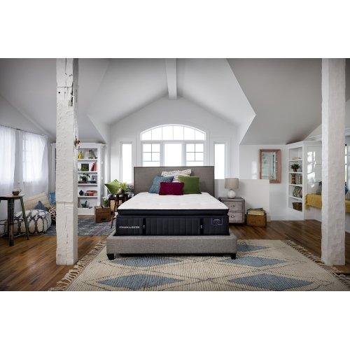 Lux Estate Collection - Cassatt - Luxury Plush - Euro Pillow Top - Split Cal King