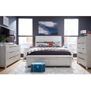 LEGACY CLASSIC FURNITURE11 West Panel Bed w/ Storage Bench FB, Queen 5/0