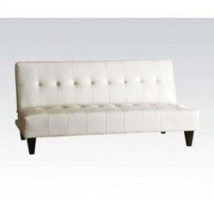 White Pu Bycast Adjustable Sof