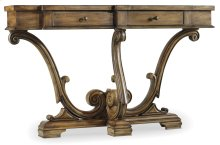 Living Room Sanctuary Thin Console-Amber Sands