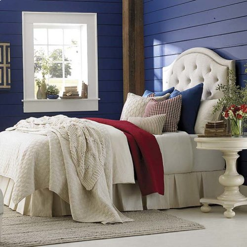 Custom Uph Beds Florence Clipped Corner King Headboard
