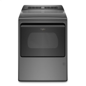 7.4 cu. ft. Top Load Gas Dryer with Intuitive Controls - CHROME SHADOW
