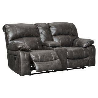 Dunwell Power Reclining Loveseat w/ Adjustable Headrests