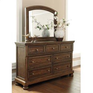 Ashley Furniture Flynnter - Medium Brown 2 Piece Bedroom Set
