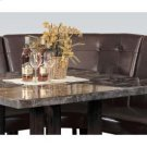 Dining Corner Chair Walnut Leg Product Image