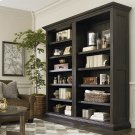 Compass Western Brown Emporium Tall Single Open Bookcase Product Image