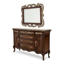 Platine De Royale Sideboard W/mirror Light Espresso