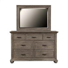 Chatham Park 7 Drawer Dresser in Warm Grey