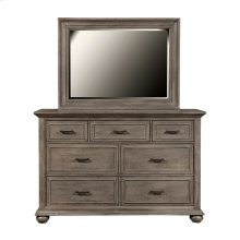 Chatham Park 7 Drawer Dresser in Warm Grey