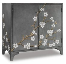 Home Entertainment In Bloom Door Chest