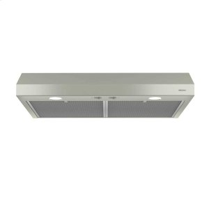 BroanGlacier 30-Inch 250 CFM Bisque Range Hood with light