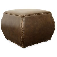 Living Room Cordova Leather Ottoman Product Image