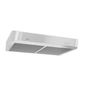 BroanBroan® 30-Inch Convertible Under-Cabinet Range Hood w/ Easy Install System, 250 CFM, White