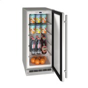 """15"""" Refrigerator With Stainless Solid Finish (115 V/60 Hz Volts /60 Hz Hz)"""