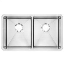 Pekoe 29x18 Double Bowl Kitchen Sink  American Standard - Stainless Steel