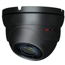 Manual Varifocal Dome Camera POE IP 5MP - Gray