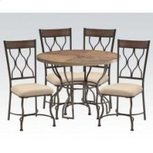 Hansa 5pc Dining Table Set