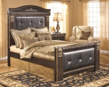 Coal Creek - Dark Brown 4 Piece Bed Set (Queen)