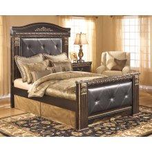 Coal Creek - Dark Brown 4 Piece Bed Set (Queen)