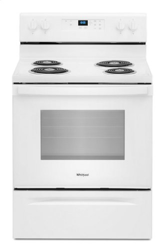 4.8 cu. ft. Whirlpool™ electric range with Keep Warm setting