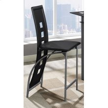 Black Astro Counter Stool