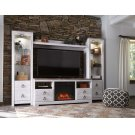 Willowton - Whitewash 5 Piece Entertainment Set Product Image