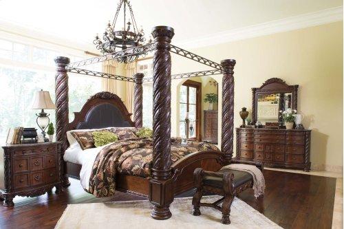 North Shore - Dark Brown 2 Piece Bedroom Set
