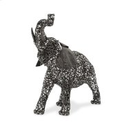Small Elephant, Aluminum Scroll Design Product Image
