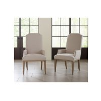Monteverdi by Rachael Ray Upholstered Host Arm Chair Product Image