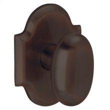 Venetian Bronze 5024 Oval Knob