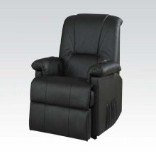 BK PU RECLINER W/LIFT&MASSAGE