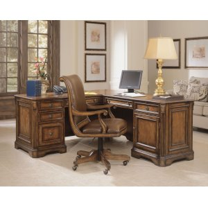 Hooker FurnitureHome Office Brookhaven Executive L Right Return