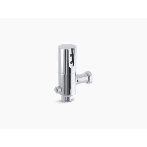 Polished Chrome Touchless Dc 1.28 Gpf Retrofit Toilet Flushometer