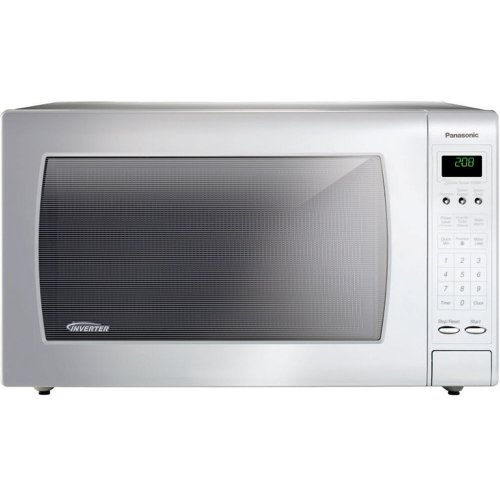 2.2 Cu. Ft. Countertop Microwave Oven with Inverter Technology - White - NN-H965WF