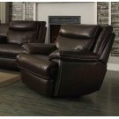 Macpherson Power Motion Brown Recliner Product Image