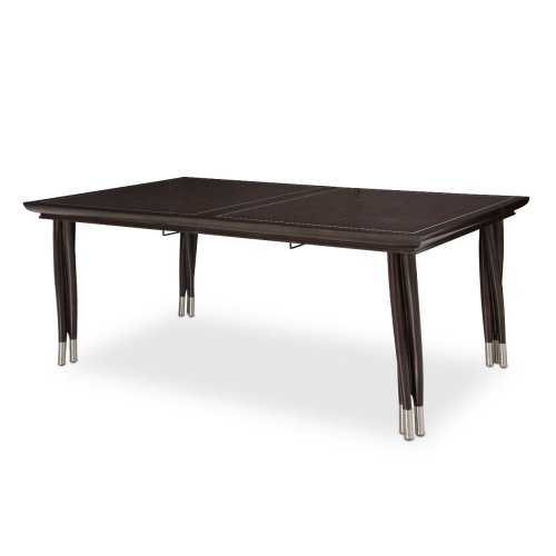 Rectangular Dining Table W/ 2- 24 Leaves