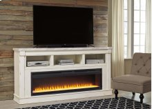 Becklyn - Chipped White 2 Piece Entertainment Set