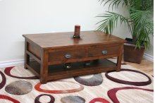 A-R259 Rustic Alder Coffee Table