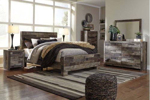Derekson - Multi Gray 2 Piece Bedroom Set