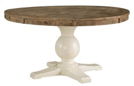Grindleburg - White/Light Brown Dining Room Table