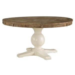 Ashley Furniture Grindleburg - White/light Brown Dining Room Table