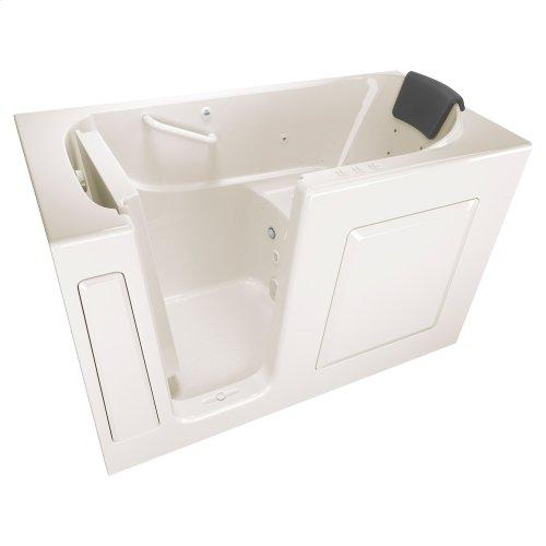 Premium Series 30x60 Combo Massage Walk-in Tub, Left Drain  American Standard - Linen