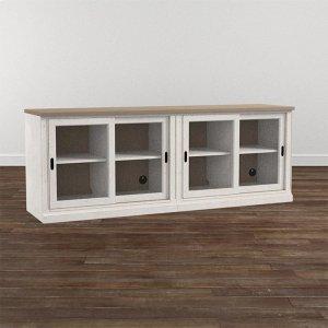 "Bassett FurnitureBella 80"" Credenza"
